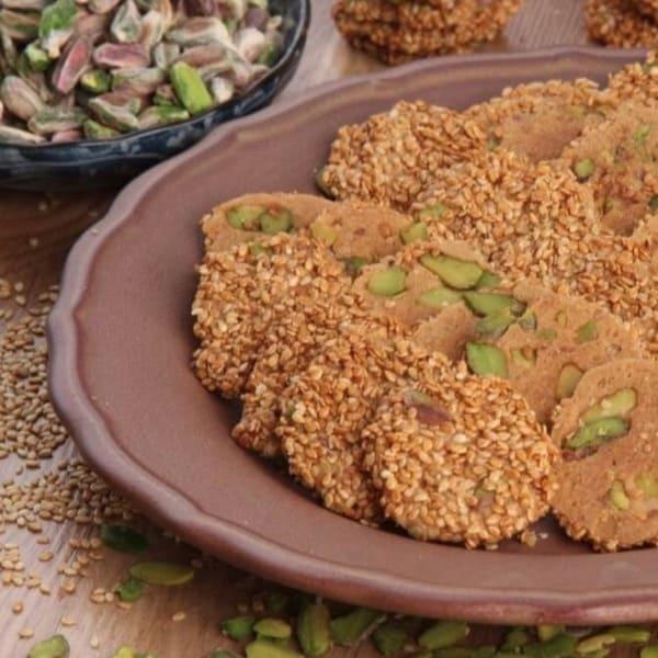 Barazek Sesame Cookies Muhtar 1